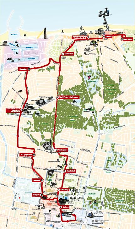Route Tourist Tram