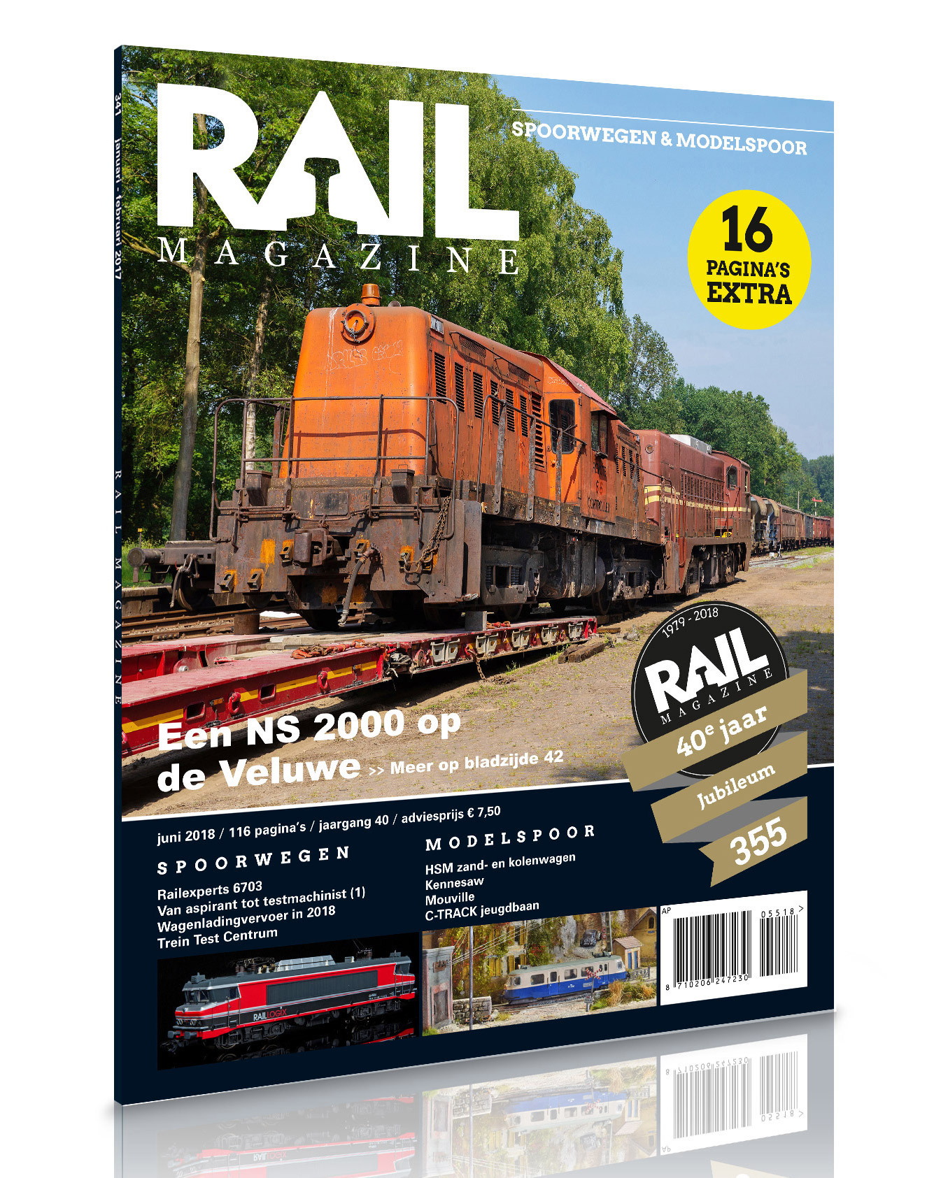 Abonnee Rail Magazine